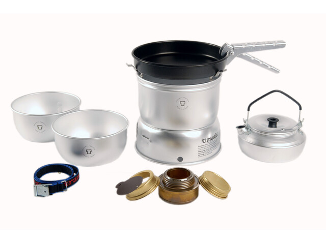 Trangia Tempête 27-4 Ultralight Alu avec casserole antiadhésive